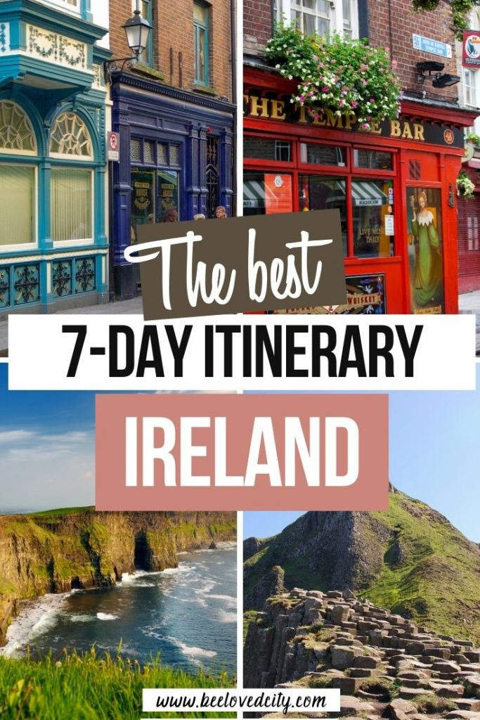 how to spend 7 days in ireland