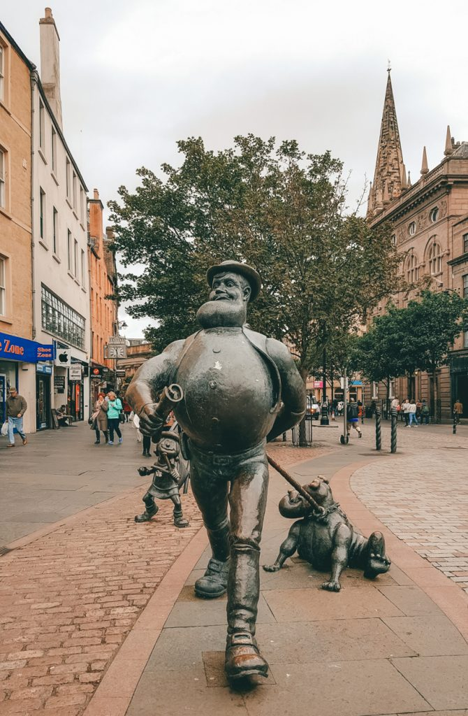 Visiting Dundee in Scotland