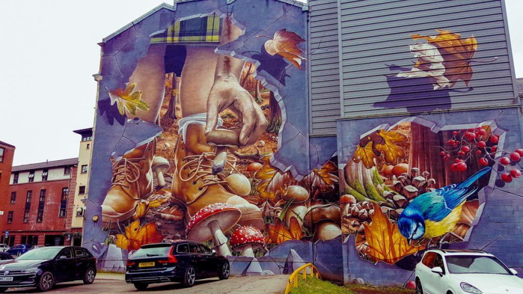 Mural in Glasgow