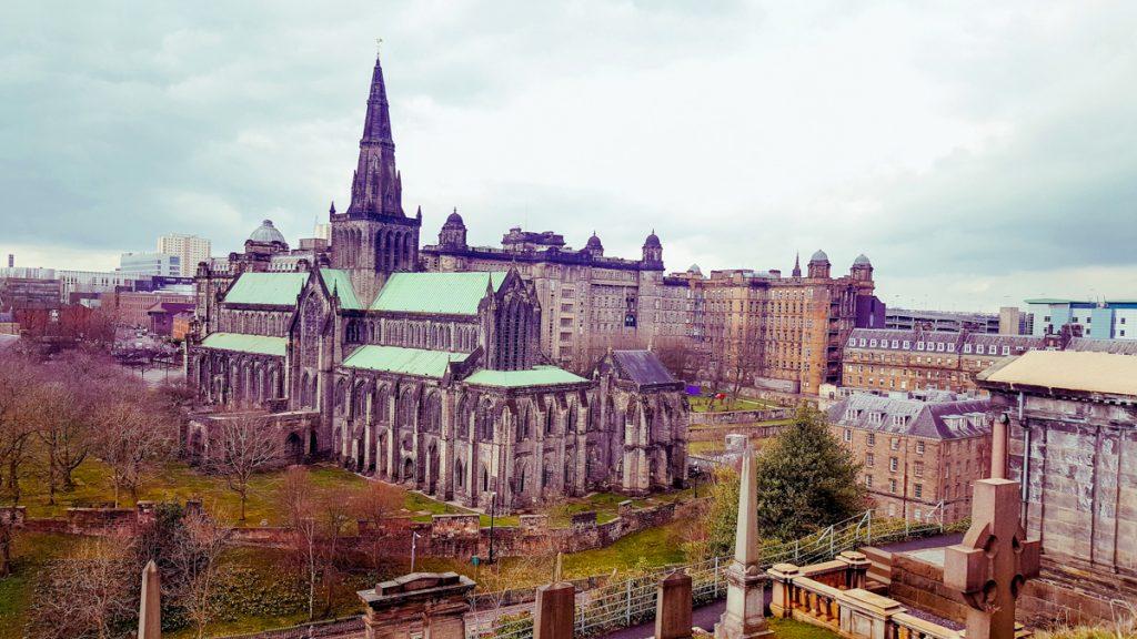 Views from Glasgow Necropolis