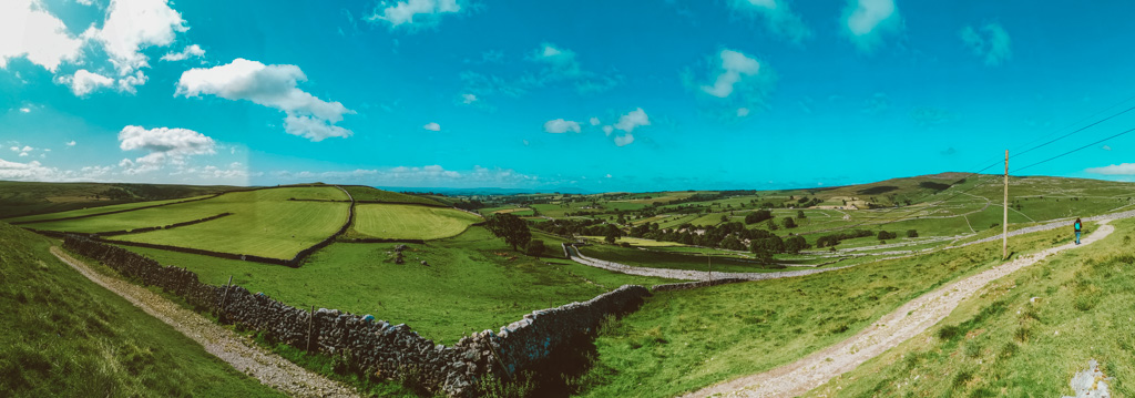 Malham in the Yorkshire Dales in England