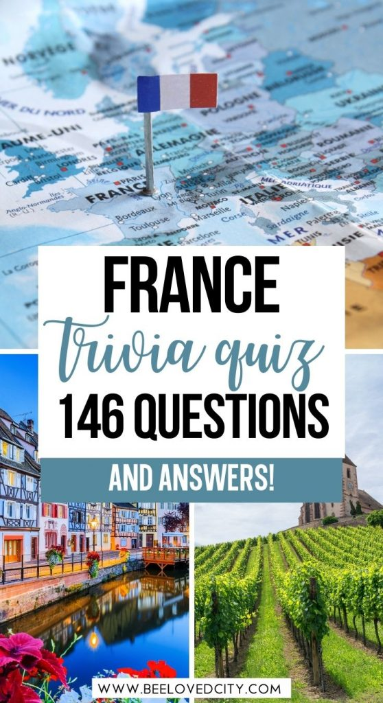 The best trivia quiz about France