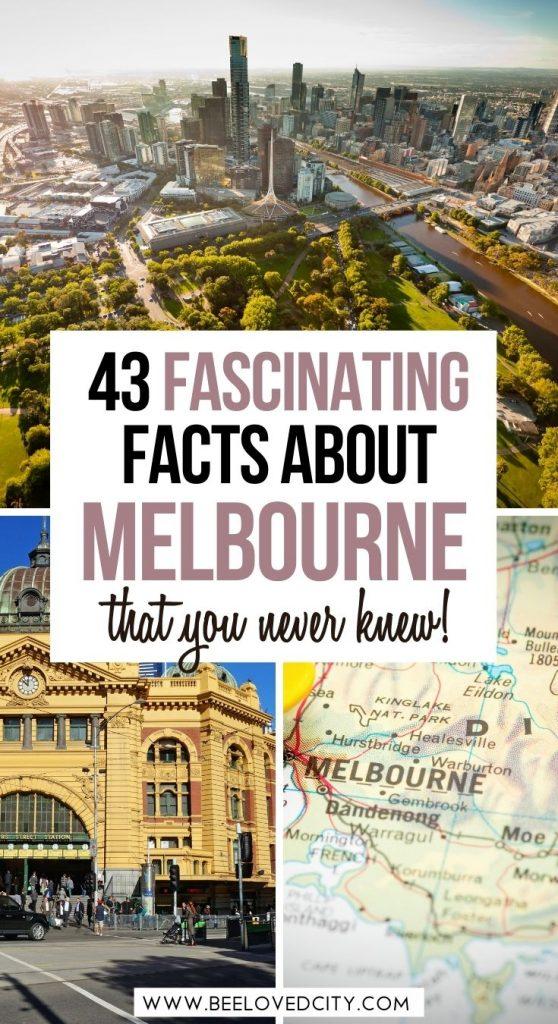 Amazing facts about Melbourne Australia