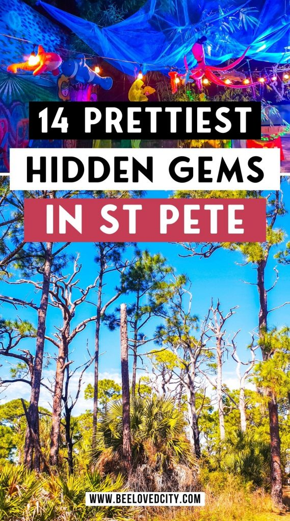 Prettiest Hidden Gems in St Pete Clearwater and Tampa