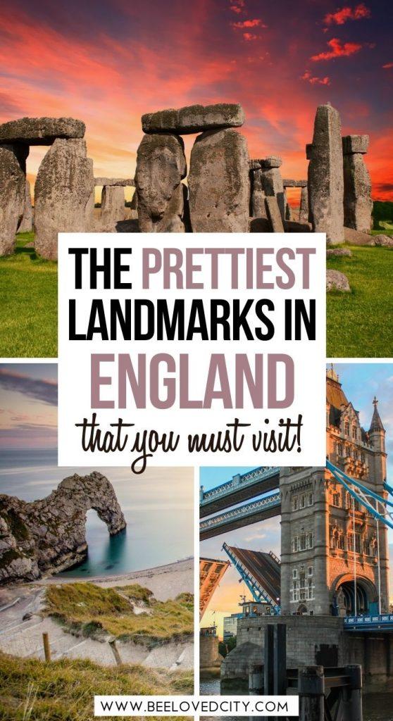 Prettiest landmarks in England