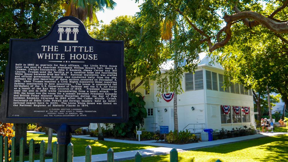 Truman Little white house in key west