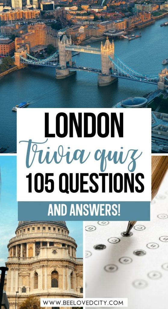 Best London Quiz