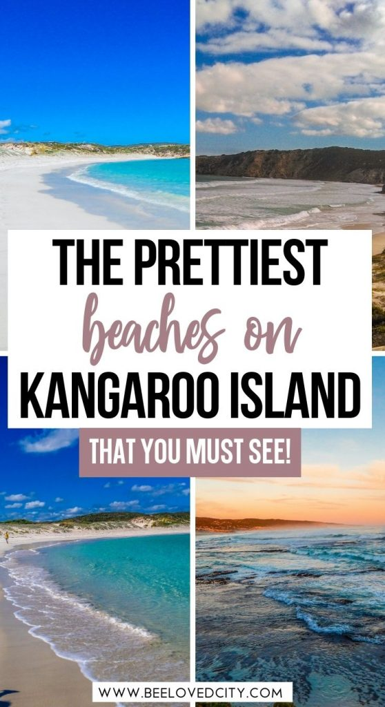 Most beautiful beaches on Kangaroo Island, South Australia