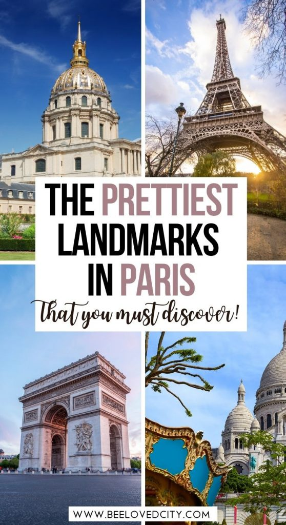 famous landmarks in paris france
