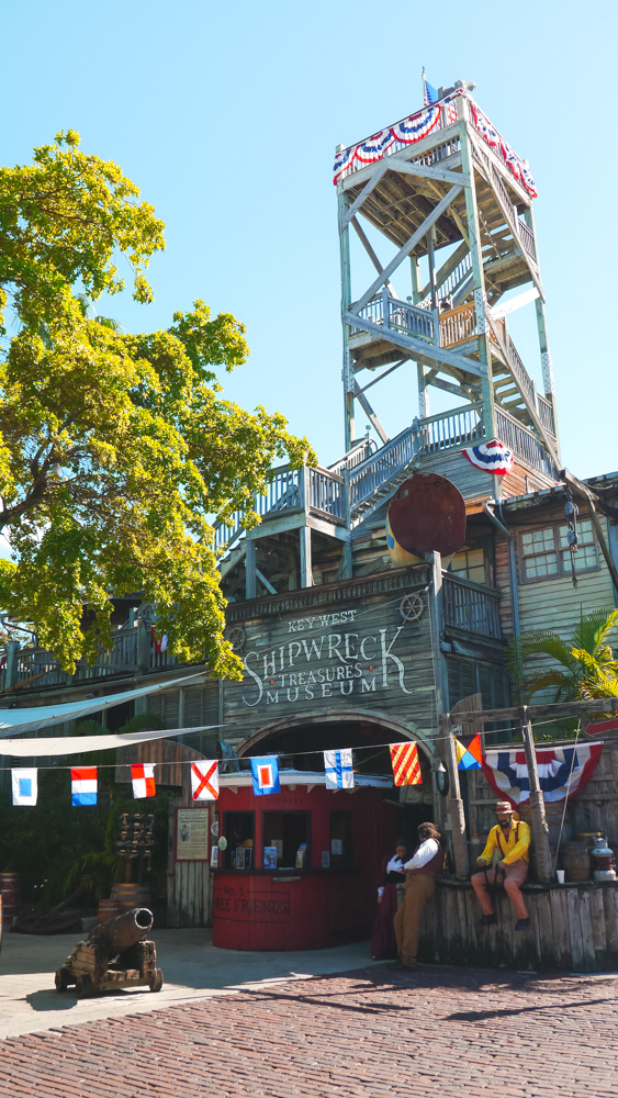 Key West Shipwreck Museum in Old Town