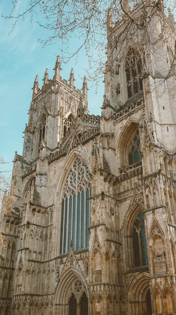 York Minster cathedral in Yorkshire