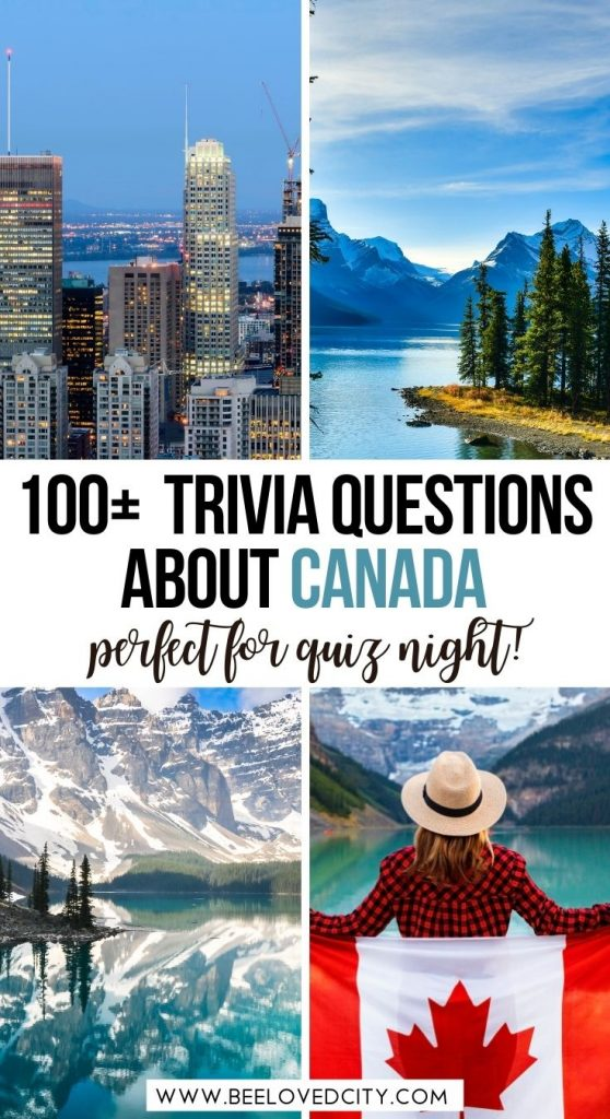 Canada Quiz Questions and Answers