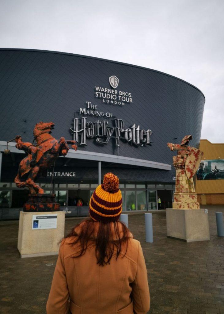 Entrance of Warner Bros Studios Harry Potter