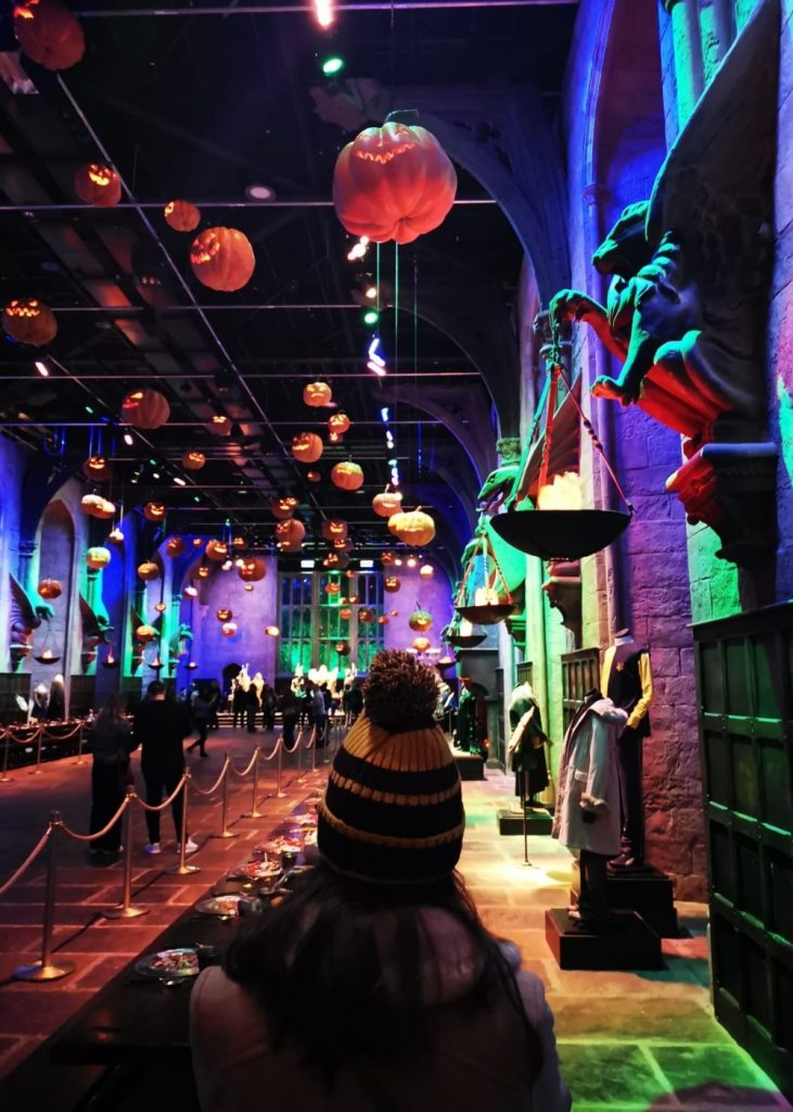 Great Hall Harry Potter Studios in London