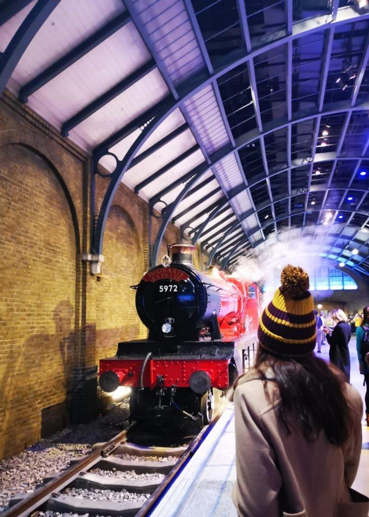 Hogwarts express in London HP Studios