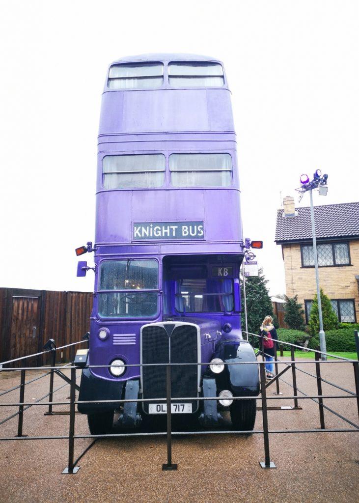 Knight Bus at Harry Potter Studios London