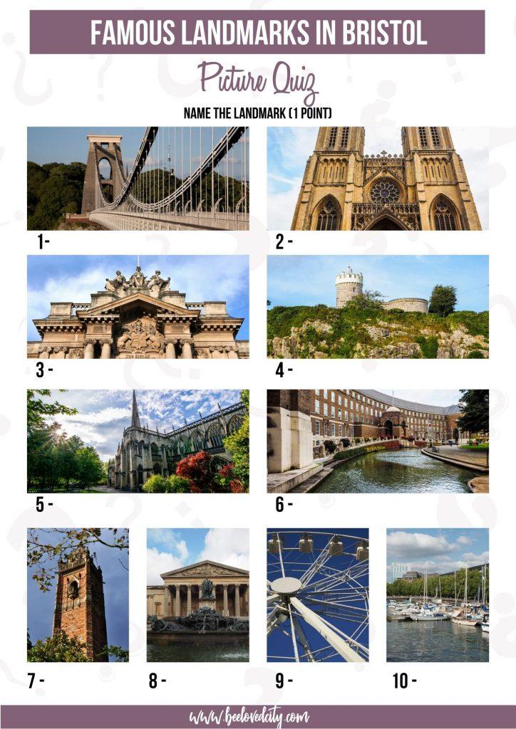 Bristol Picture Quiz