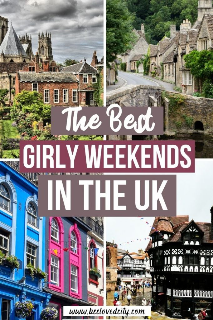 Luxury girls weekend away in the UK