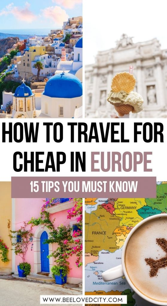 travel cheap in europe