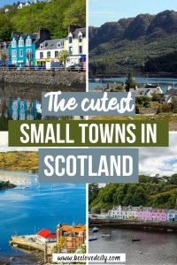 Prettiest small towns in scotland