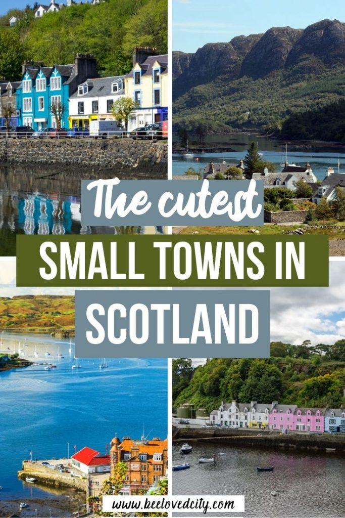 Prettiest small towns in scotland